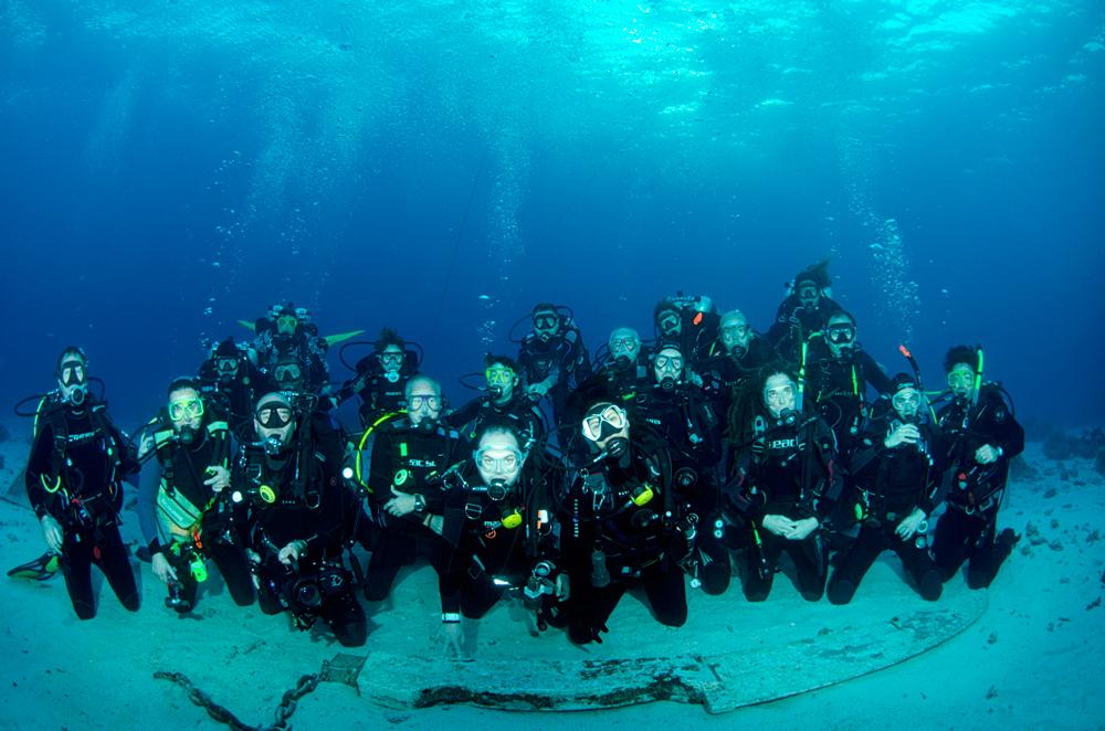 Buceo Donosti en el Mar Rojo