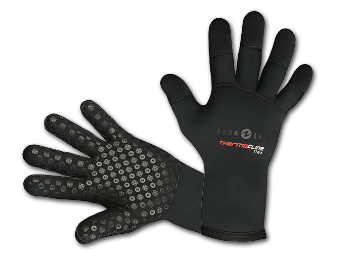 Divertysub-Barcelona-Guantes-de-neopreno-Aqualung-THERMOCLINE-FLEX-3-mm